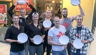 Canada's Rowling team